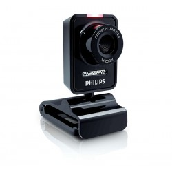 Webcam easy 1.3 MP Zoom 3x PHILIPS SPC530NC Noir