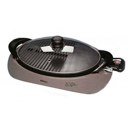 Barbecue de table BEKO BKK2177 Combiné Gril & Plancha