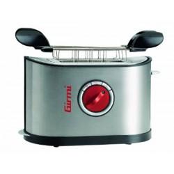 Grille-pain 2 Fentes avec pinces GIRMI TP45 Inox